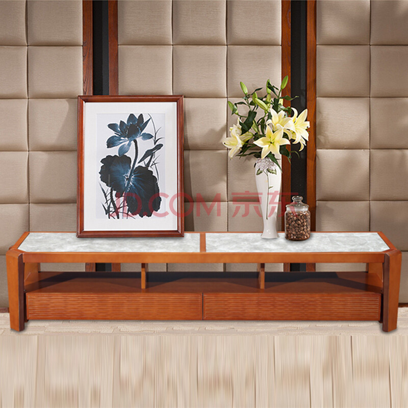 三木印象槟榔色简约现代风格实木客厅家具电视柜特价促销 pt1208gf