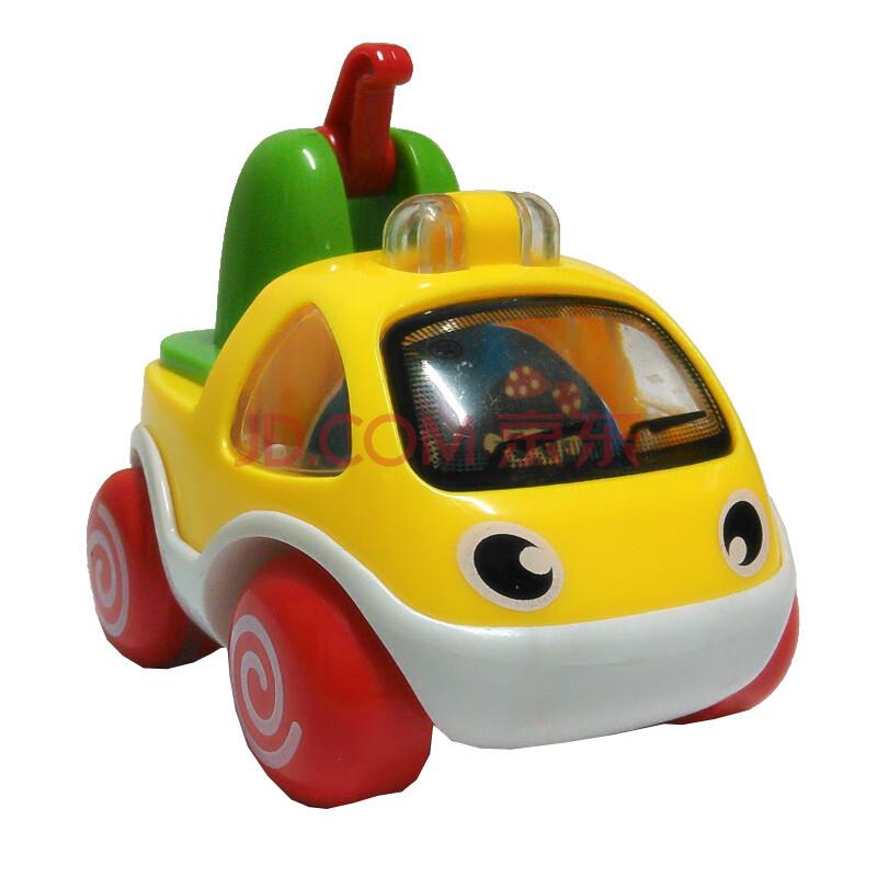宝丽儿童卡通车玩具 幼儿压力动力小车 婴儿消防工程车回力车套装