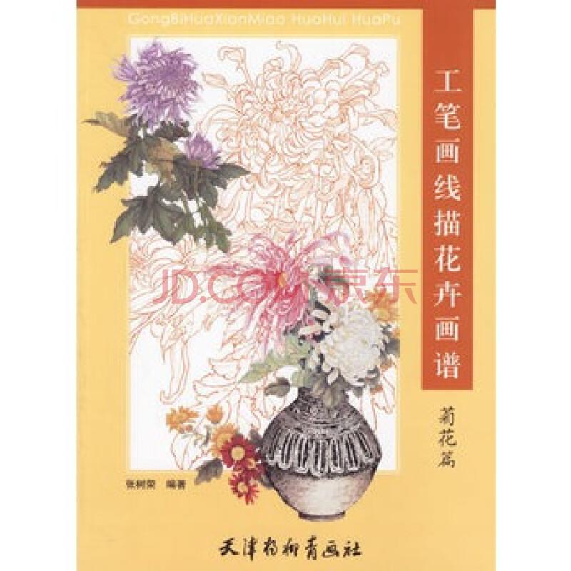 工笔画线描花卉画谱 菊花篇