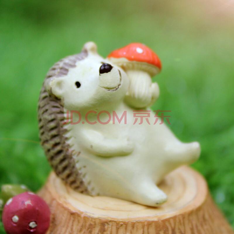 如果(roogo)zakka 杂货摆件 超萌系小动物摆件迷你仰望天空小动物摆件