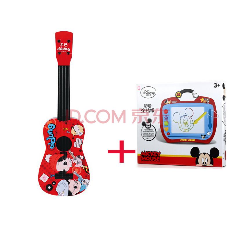 ddung韩国冬己娃娃儿童吉他尤克里里乐器玩具早教音乐图片