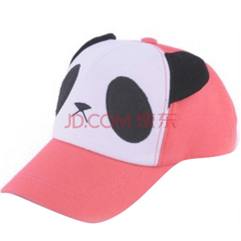 新款 范冰冰熊猫卡通头像鸭舌帽 棒球帽 潮 男女帽子