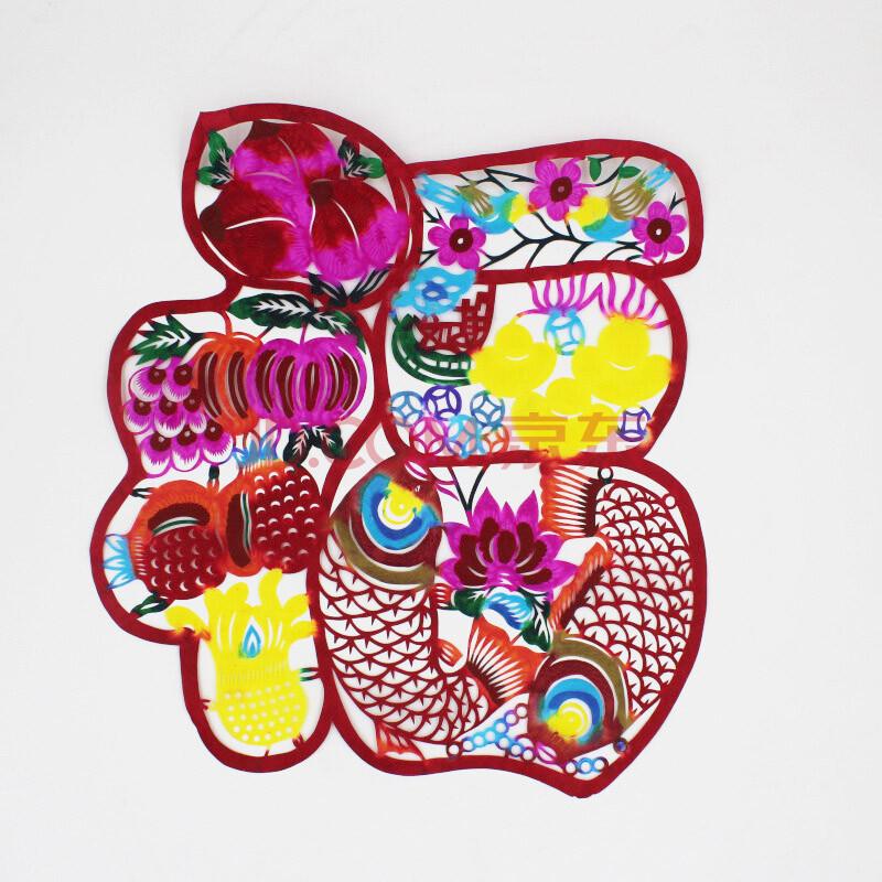 春联纸2016猴年春节年货礼品福字剪纸福贴红包对联春联创意手工剪纸彩