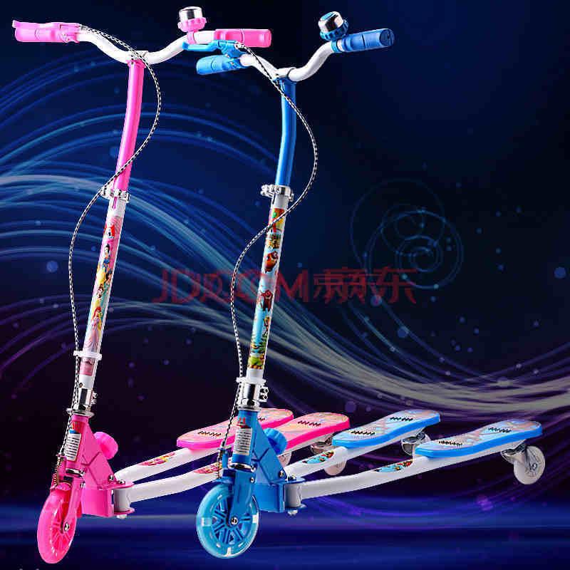 滑板车儿童三轮滑板车可折叠踏踏车剪刀车