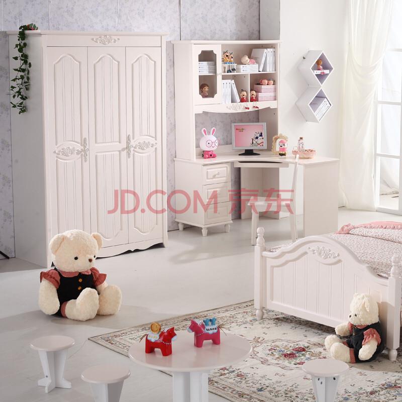韩式衣柜 田园衣柜 简易衣柜 象牙白色衣柜衣橱 韩式家具特价包邮 三