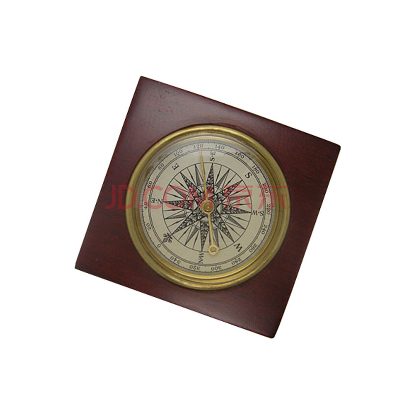 复古礼品指南针 户外指南针 木制底盘手工制作 木