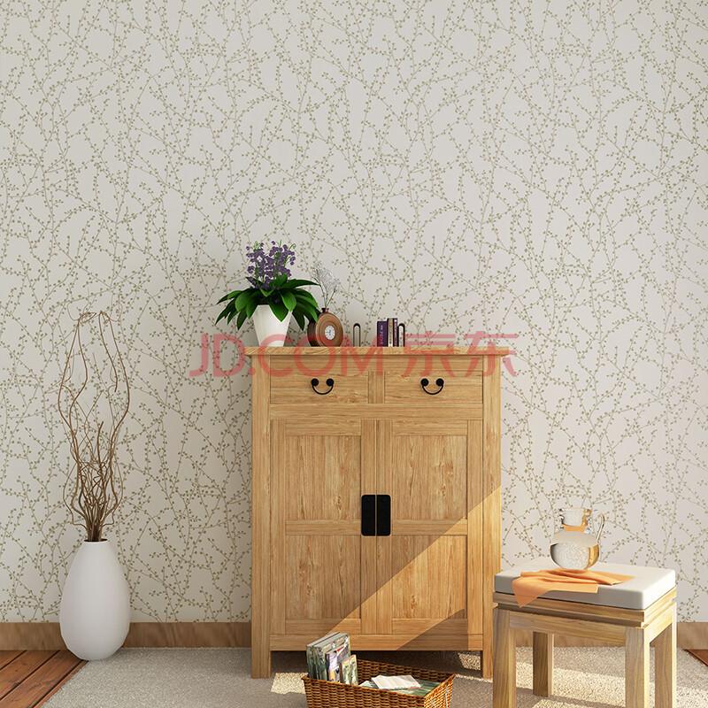 藤格先生 淡雅米灰色梅花图案壁纸现代新中式风格背景墙纸lm 玫瑰红色图片