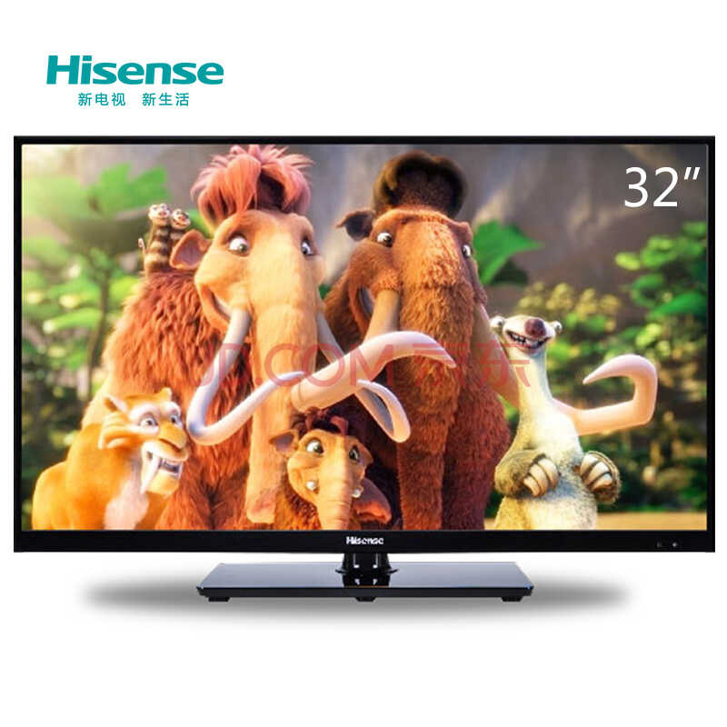 海信(Hisense)LED32EC260JD 32英寸 窄边网络 LED电视(黑色)