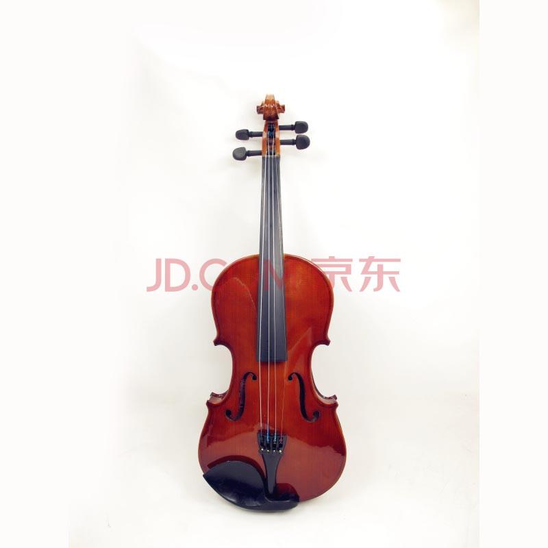 包邮vorson 手工制作 实木普及初级用小提琴 送(小提琴盒 弓子 松香