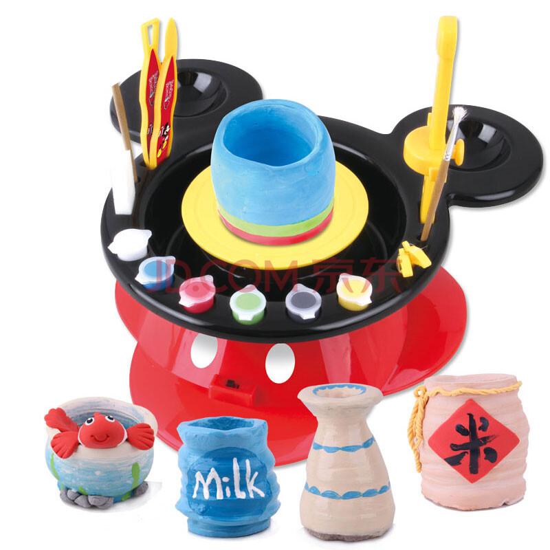 儿童陶艺机手工陶泥作品陶泥机器