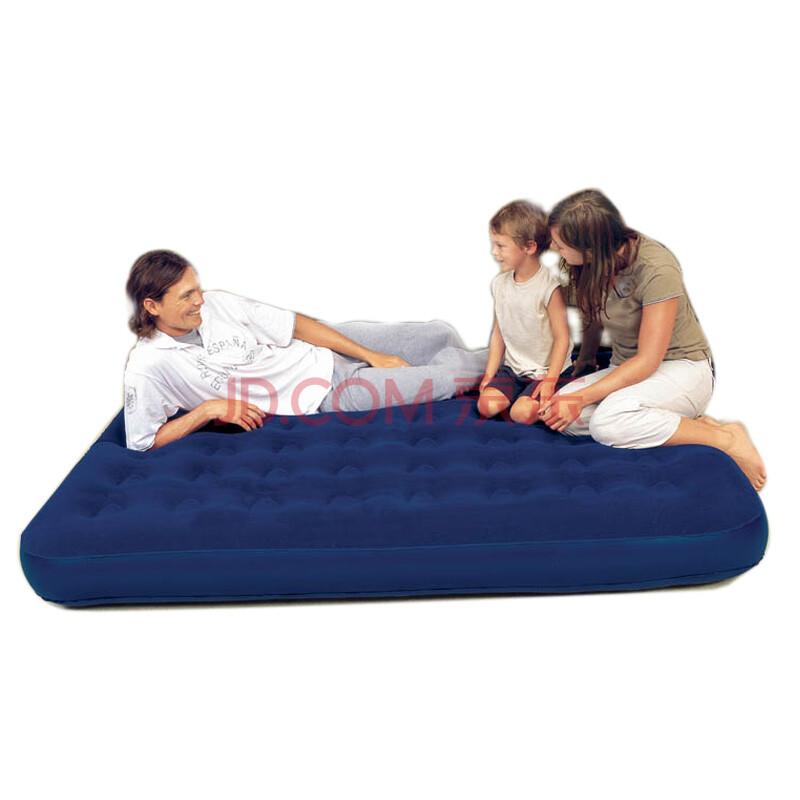 Bestway充气床气垫床充气床垫双人单人充气垫办公室午睡床午休床医院陪护床 床+手动泵 203*152*22CM双人