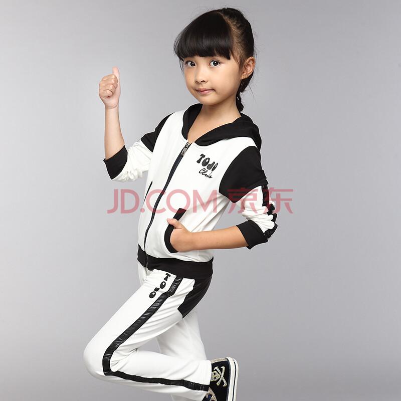 拼接套装女孩两件套裤子童装中大童套装儿童女a012-q