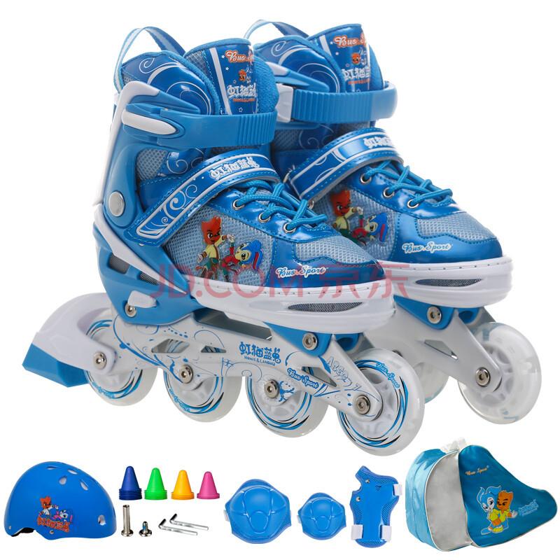 虹猫蓝兔溜冰鞋儿童套装