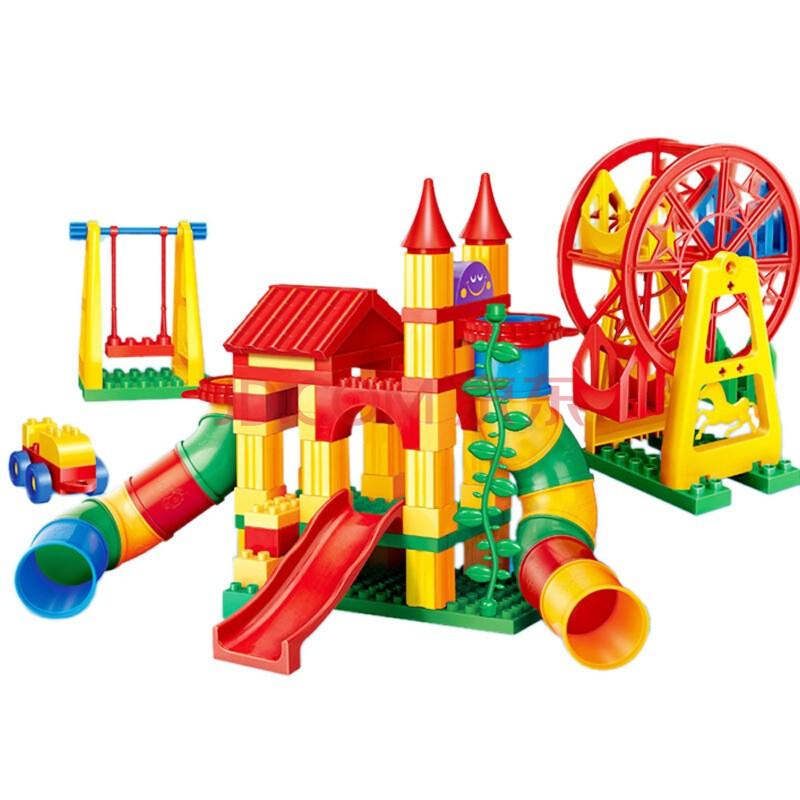 邦宝益智实体塑料玩具积木大积木拼插益智玩具多功积颗粒幼儿园俊影娃娃木桌有什么用图片
