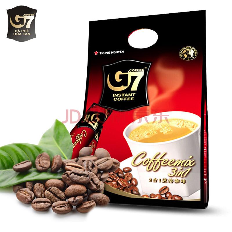 越南中原g7咖啡_g7咖啡 中原g7越南进口速溶咖啡 1600克*1袋(100条)