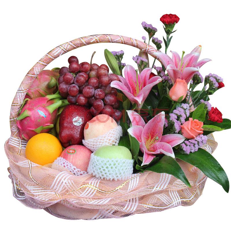 中秋节礼品鲜花水果篮节日生日礼品送老师领导长辈爸爸妈妈朋友病人