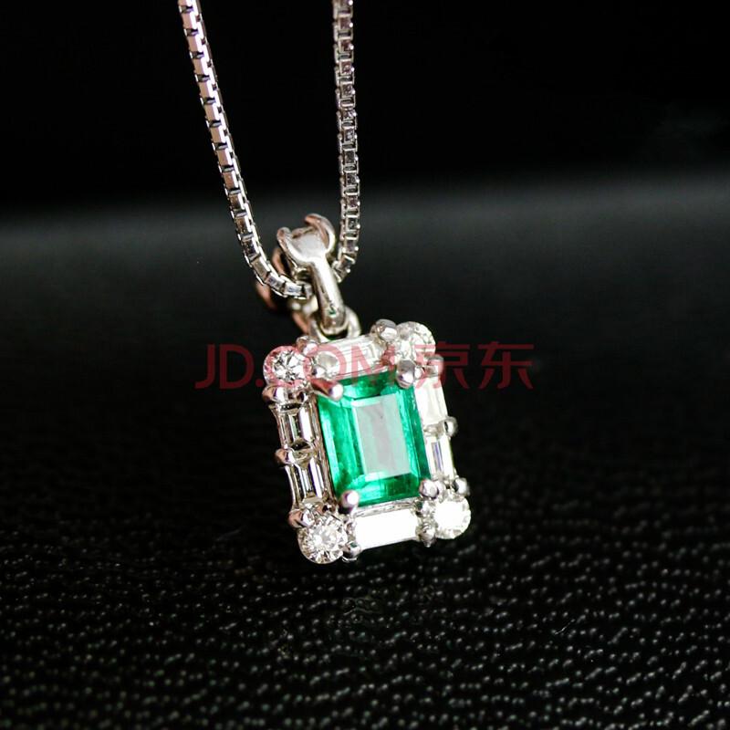 贵人和 珠宝设计师祖母绿项链