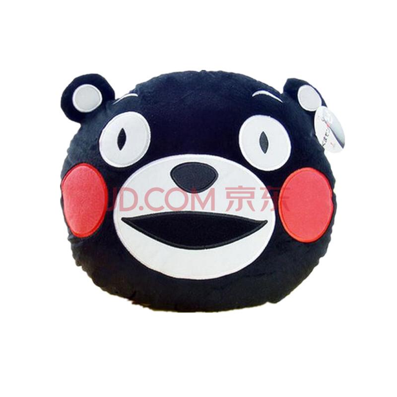 安吉拉 可爱熊本县吉祥物公仔玩偶 呆萌黑熊毛绒玩具