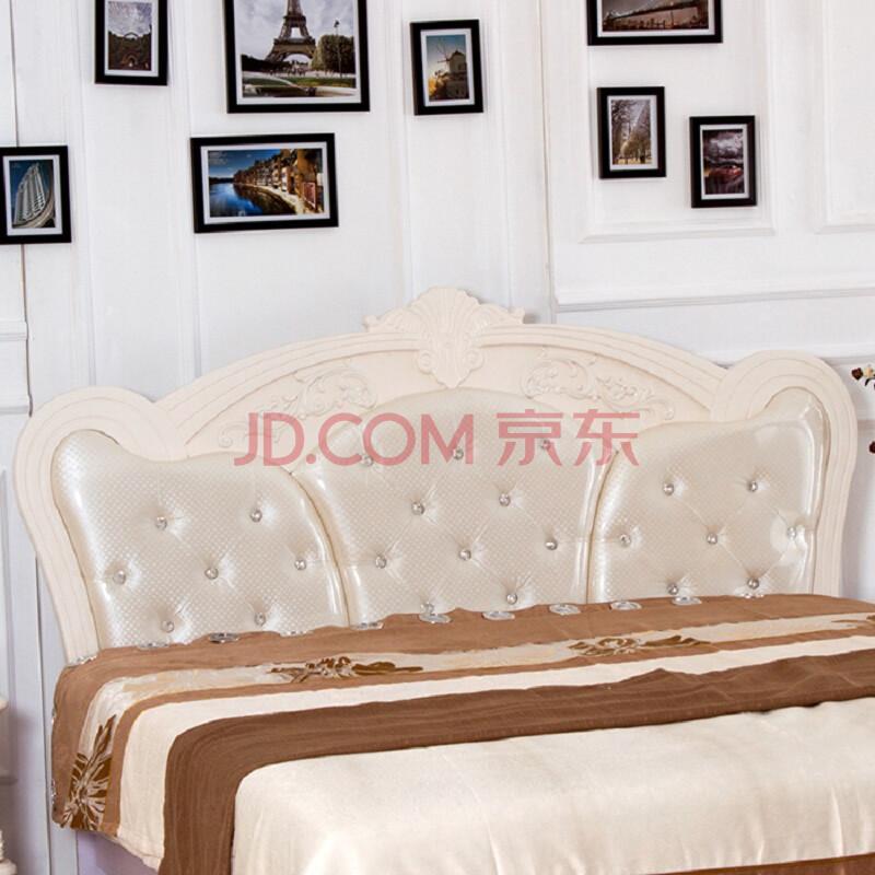 欧式床头板法式床头靠背板双人床头板烤漆软包床头包邮 832 2000*2000图片