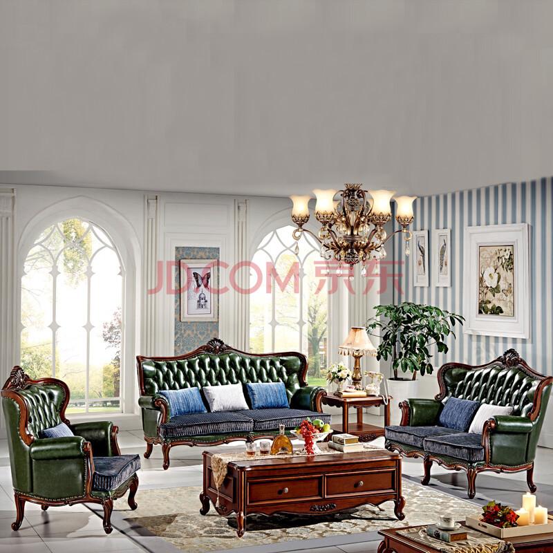 法美莎 沙发 实木沙发 皮沙发 欧式沙发 美式沙发 客厅家具 单人位图片