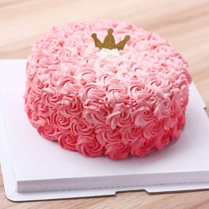 艾美珈 水果生日蛋糕配送鲜花蛋糕速递巧克力奶油双层