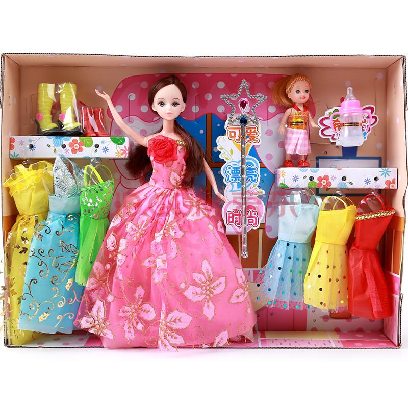 可货到付款女孩芭比(女)儿童三口(男)换装洋娃娃一家玩具积木宝宝什么样的玩具适合一岁单个图片