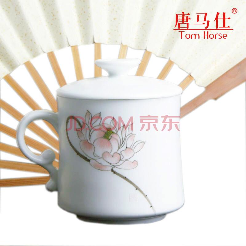 唐马仕中国风特色手绘陶瓷杯商务会议礼品送客户朋友老外礼物