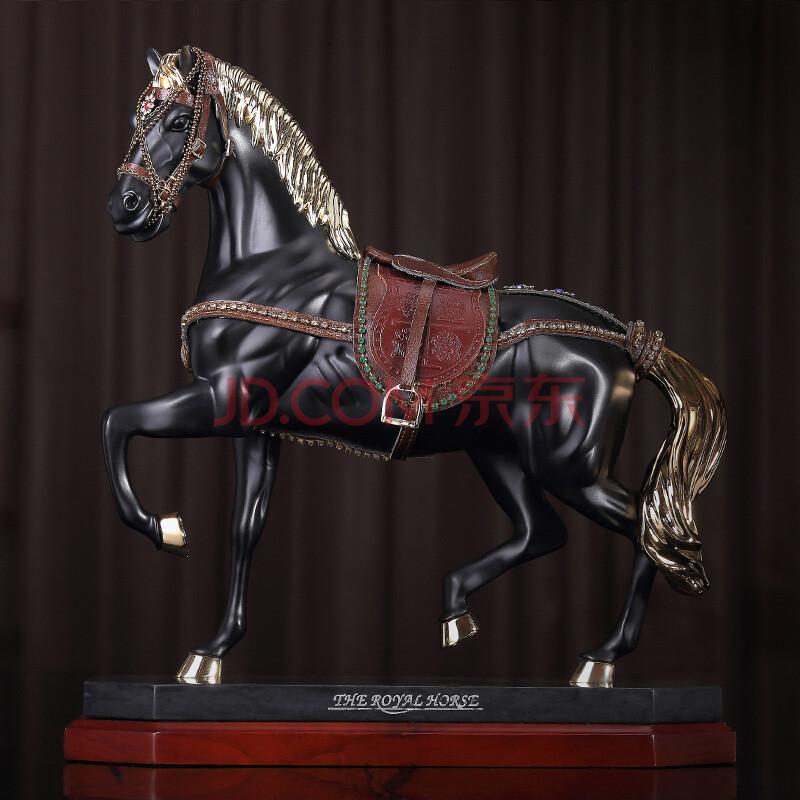 欧式生肖马摆件工艺品家居创意摆设装饰品