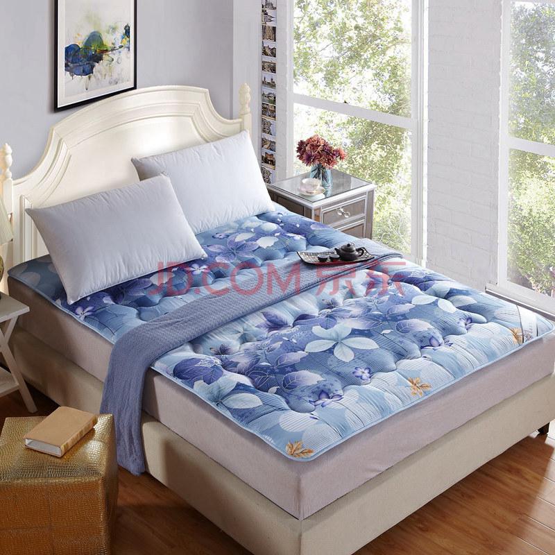 活性可水洗舒适榻榻米床垫 可折叠单双人床褥子垫被 翩然起舞 1.2米床