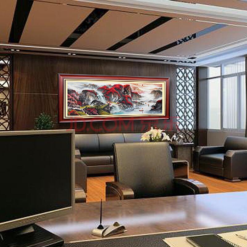家装软饰 装饰字画 景怡 景怡 客厅装饰画办公室挂画餐厅沙发背景墙