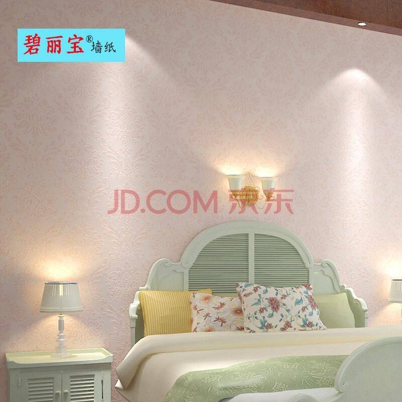 无纺布墙纸卧室客厅电视背景墙壁纸ab款简约欧式风格大马士革花纹 10
