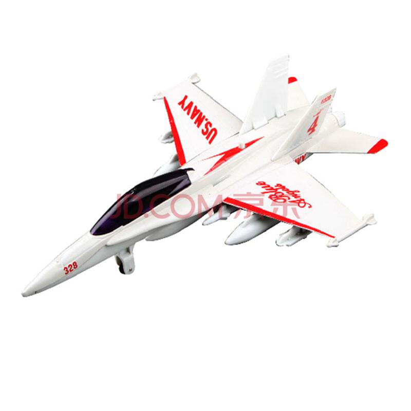 合金回力战斗机 二战飞机仿真模型玩具