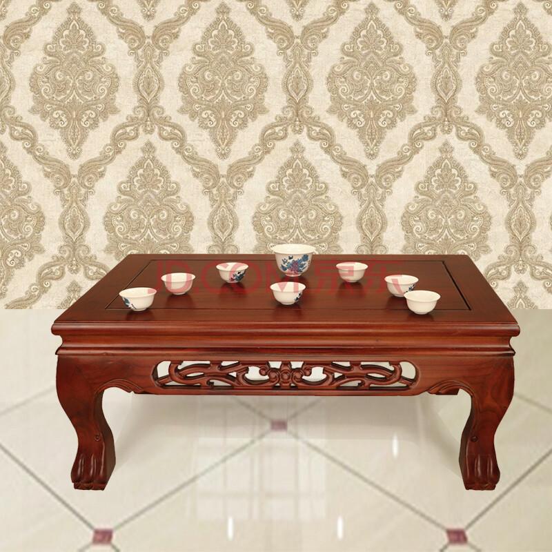 天玺香颂 中式老榆木炕桌 古典实木榻榻米 飘窗台田园矮桌地台木质