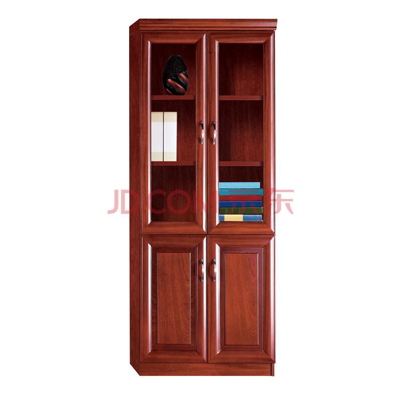 悍升家具 办公家具文件柜 木质 贴木皮资料柜 落地柜档案柜 油漆书柜