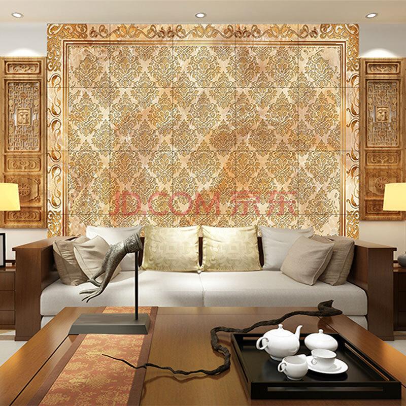 影视墙电视沙发客厅餐厅卧室背景墙壁画大型瓷砖定做