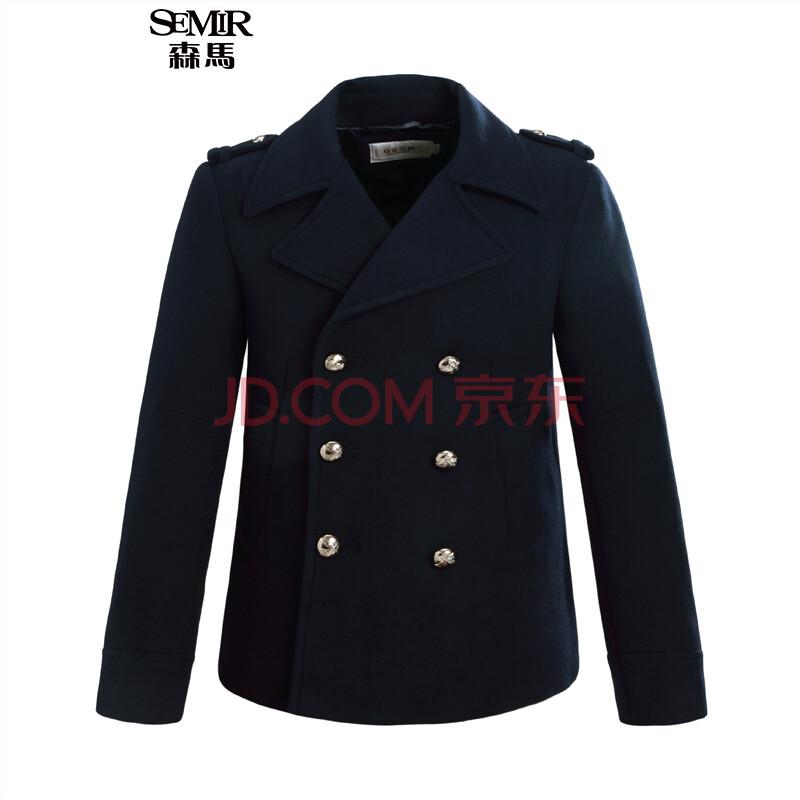森马毛呢大衣 2015冬装新款图片