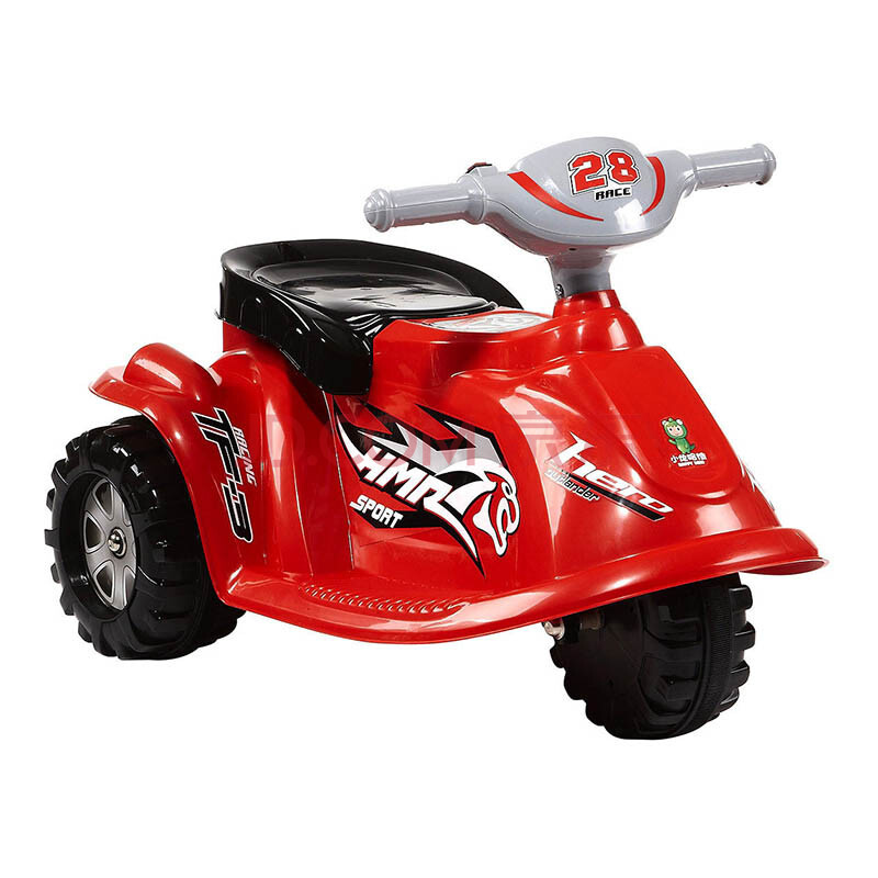 poscn happy dino 童车可爱 萝莉 儿童电动车 电动摩托车 yt6508-0030