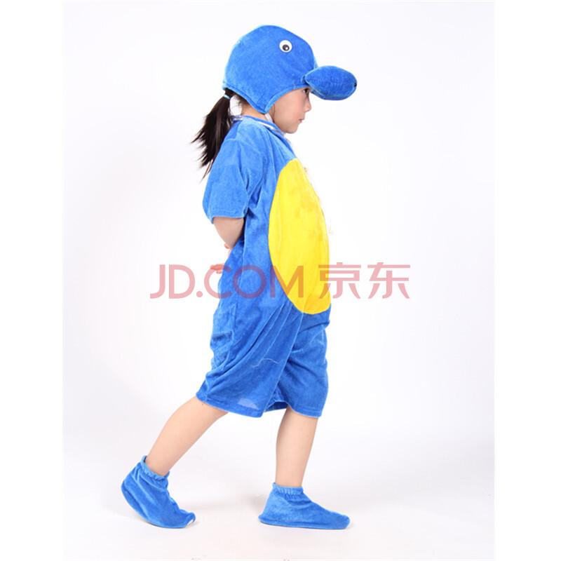 儿童动物服装幼儿海洋小海狮演出服饰成人海豚表演舞蹈服新款 短袖