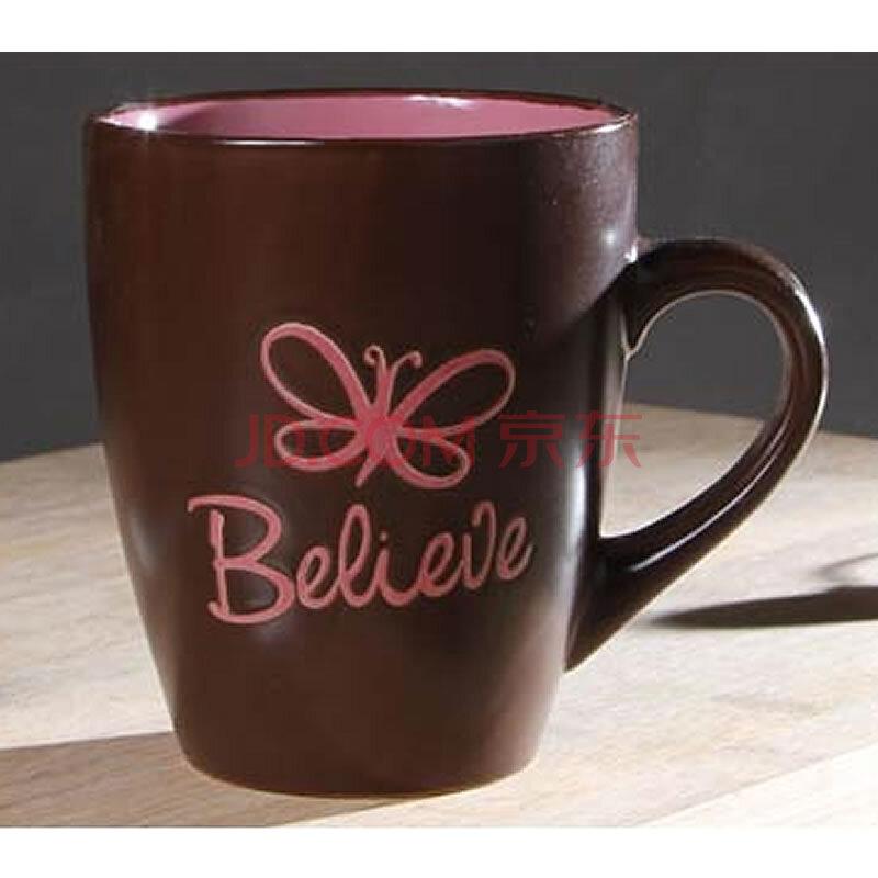 【自然良品】闲随一杯 手绘陶瓷杯子 马克杯个性咖啡杯复古茶水创意