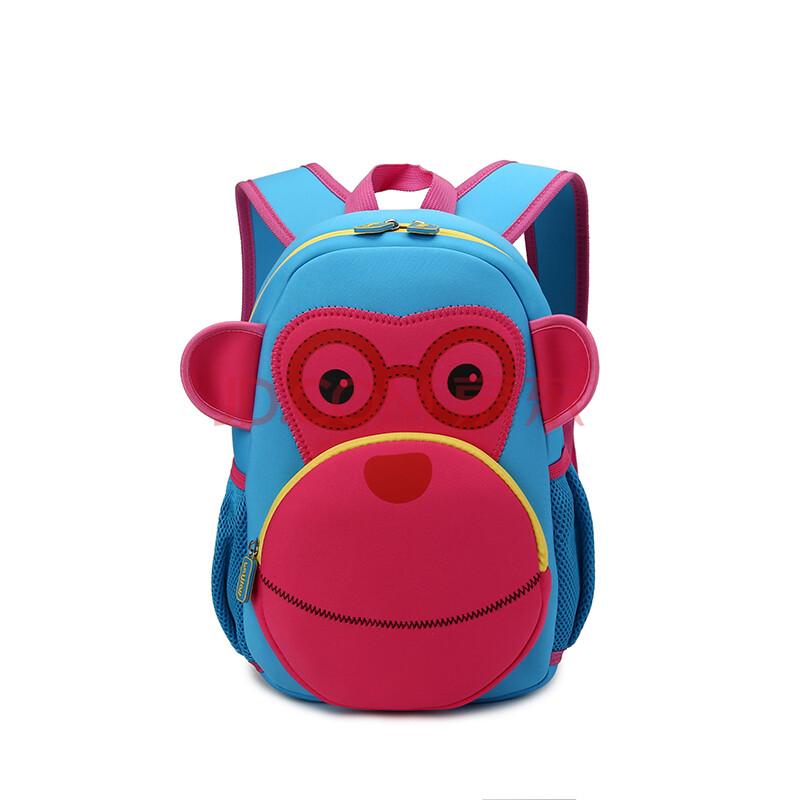 斐尔特幼儿园书包动物卡通男女儿童双肩包幼儿旅行背包3-6周岁小黄人
