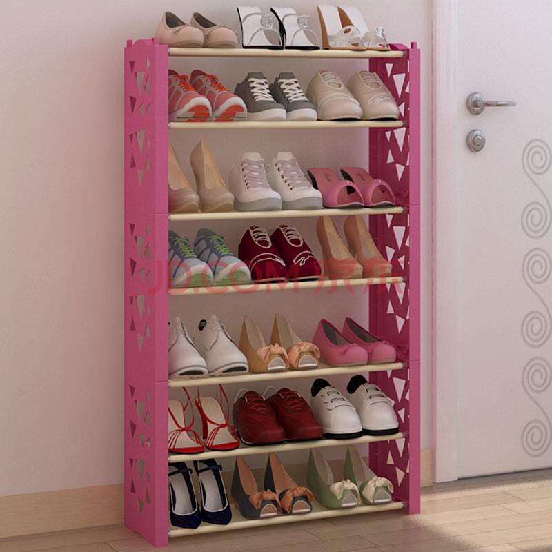 生活保罗多层简易鞋架 单人鞋柜 多功能鞋架子 儿童鞋