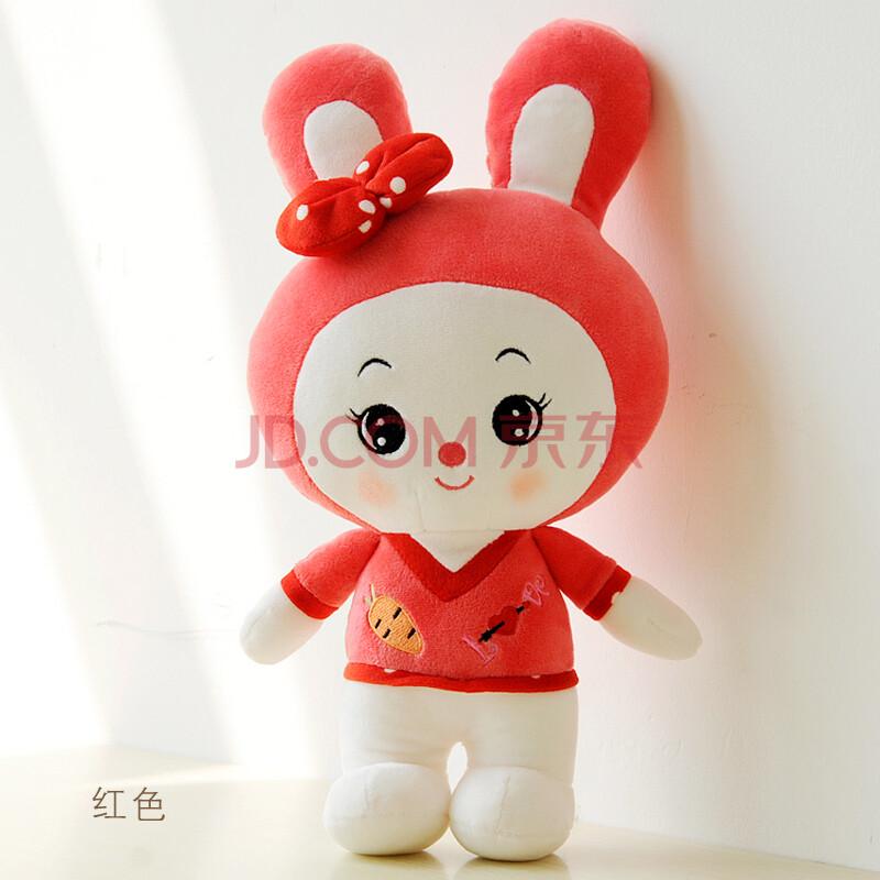 可爱卡通毛绒玩具米菲兔超萌小白兔子公仔女孩玩偶布