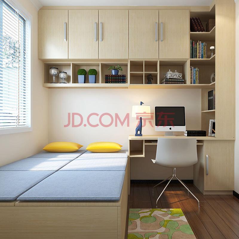 整体定制榻榻米儿童房衣柜卧室成套家具图片