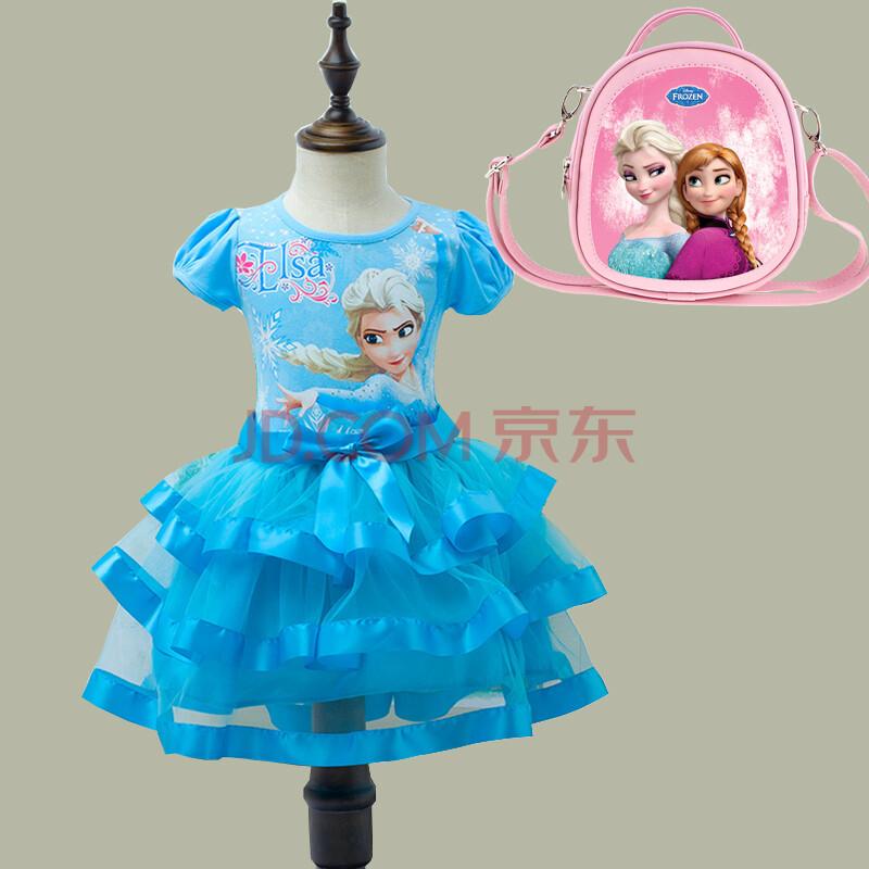 公主裙冰雪奇缘艾莎儿童服装女童六一儿童节表演连衣裙elsa爱莎裙子