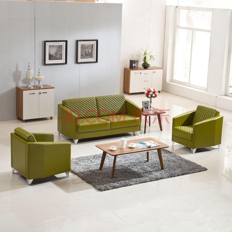 环澳 上海办公家具办公室沙发北欧商务休闲办公沙发茶几组合会客现代图片