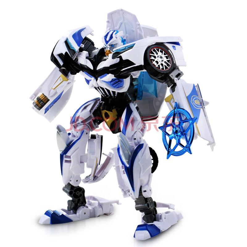 变形玩具金刚4正版 电影版 擎天柱大黄蜂警察车机器人