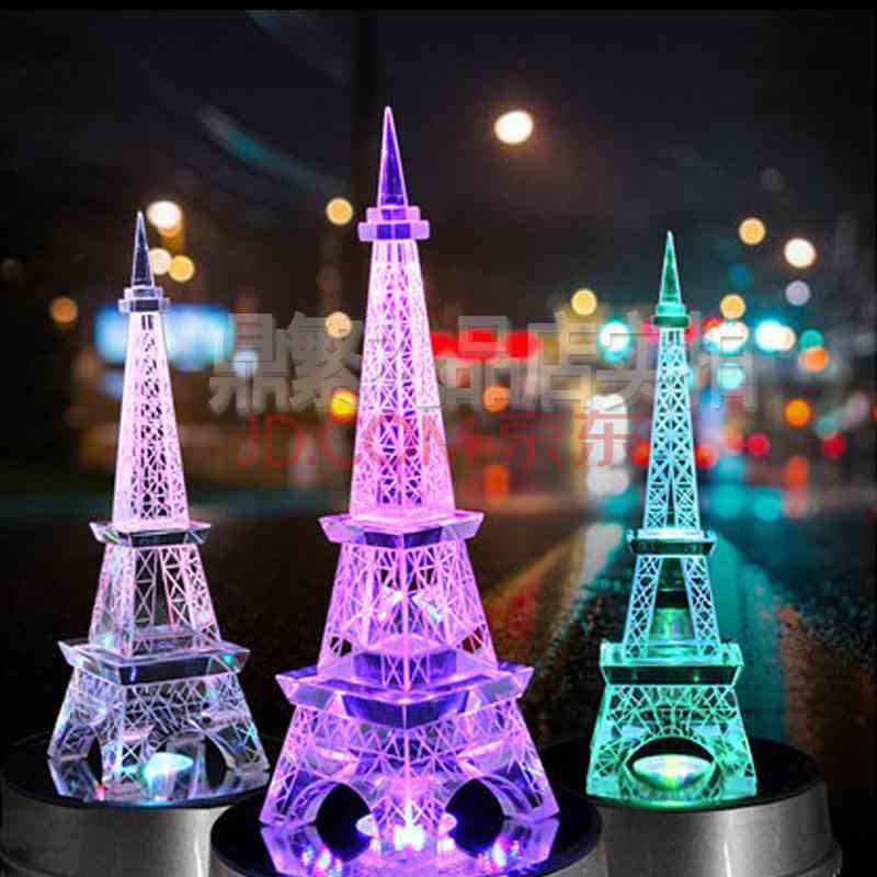创意巴黎水晶埃菲尔铁塔摆件送女朋友闺蜜同学小礼品