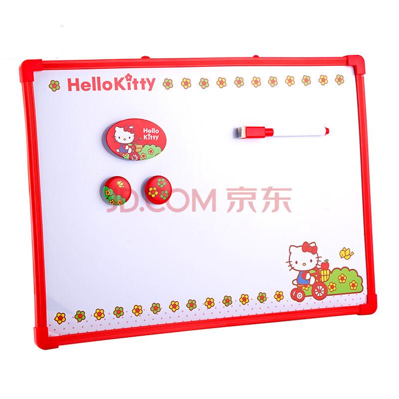 hello kitty凯蒂猫可爱小白板/儿童画板/写字板 红色