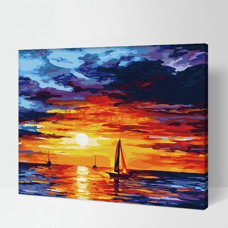 手绘画 风景-油画棒风景画手绘教程_油画教程风景_手绘风景图片铅笔画