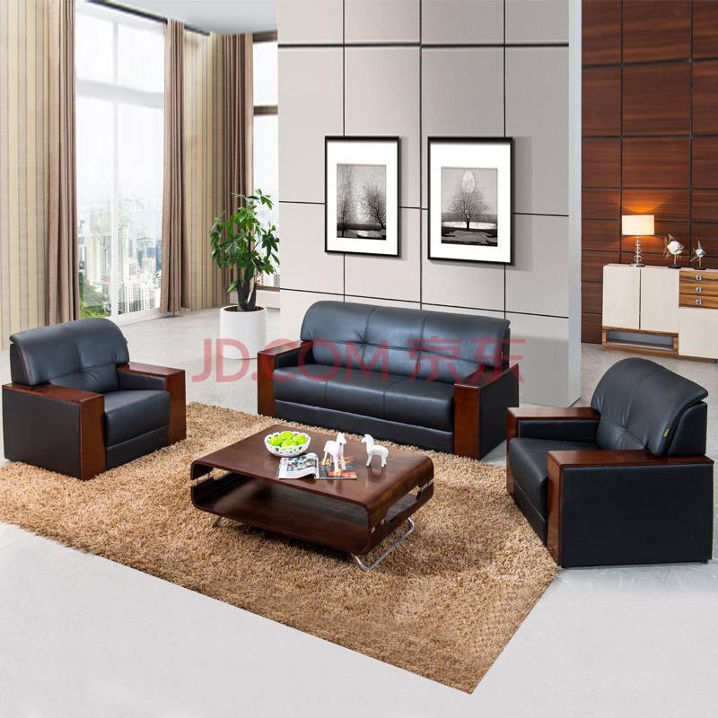 上海办公家具 皮质沙发 办公沙发组合 办公家具 商务沙发 会客沙发